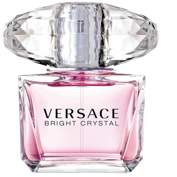 Versace Collection Bright Crystal Eau De Toilette 90Ml ($97) ❤ liked on Polyvore featuring beauty products, fragrance, bright crystal, floral fragrances, versace fragrance, eau de toilette perfume, eau de toilette fragrance and flower fragrance
