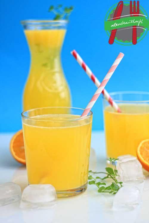 Oranżada z nutką mięty