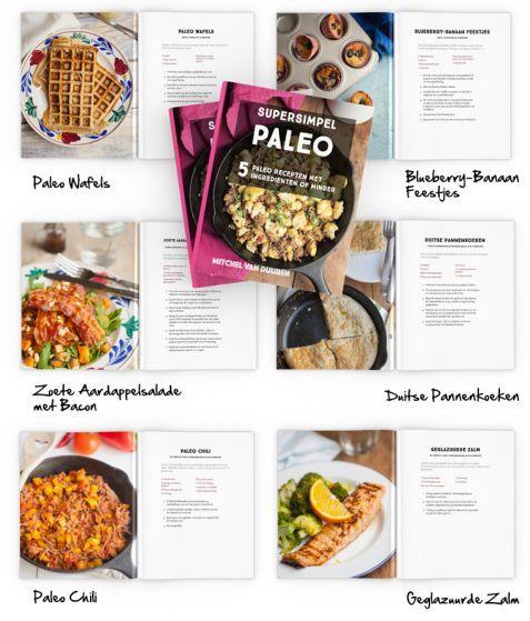 Super Simpel Paleo Koken met maar 5 ingrediënten! Begin nu direct met koolhydraatarm eten en geniet van de gezondheidsvoordelen van suikervrij eten op......