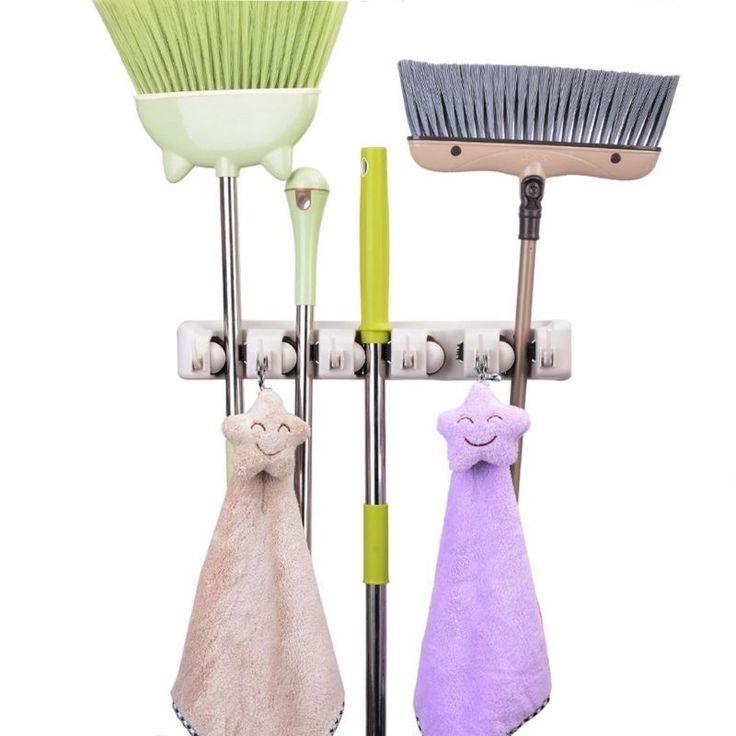 Custom Tool Wall: Best 25+ Broom Holder Ideas On Pinterest