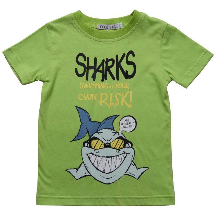 Купить товарДети мальчиков детской одежды мальчиков хлопка мультфильм акула печать с коротким рукавом дети мальчик тройники и топы 2 цвет 2 12 лет в категории Футболкина AliExpress.               Выбрать более от нашего магазина!                                     Дети Мальчики одежда дет