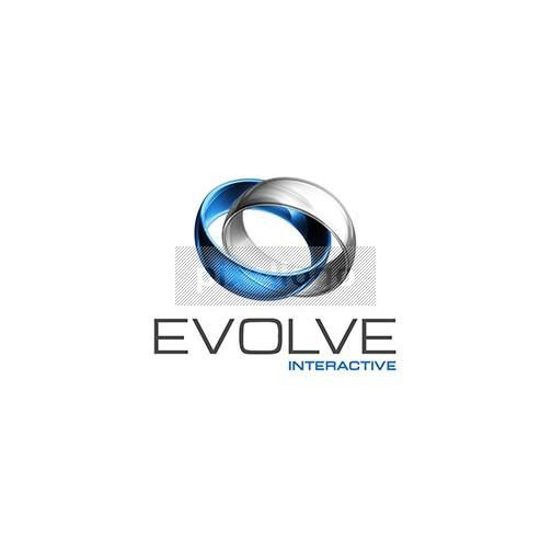 Evolve Interactive Cosmic 3D Logo 3D-399 - Pixellogo