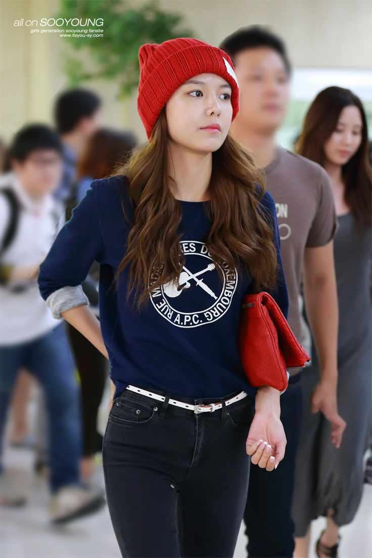 SNSD Sooyoung airport fashion - September 7