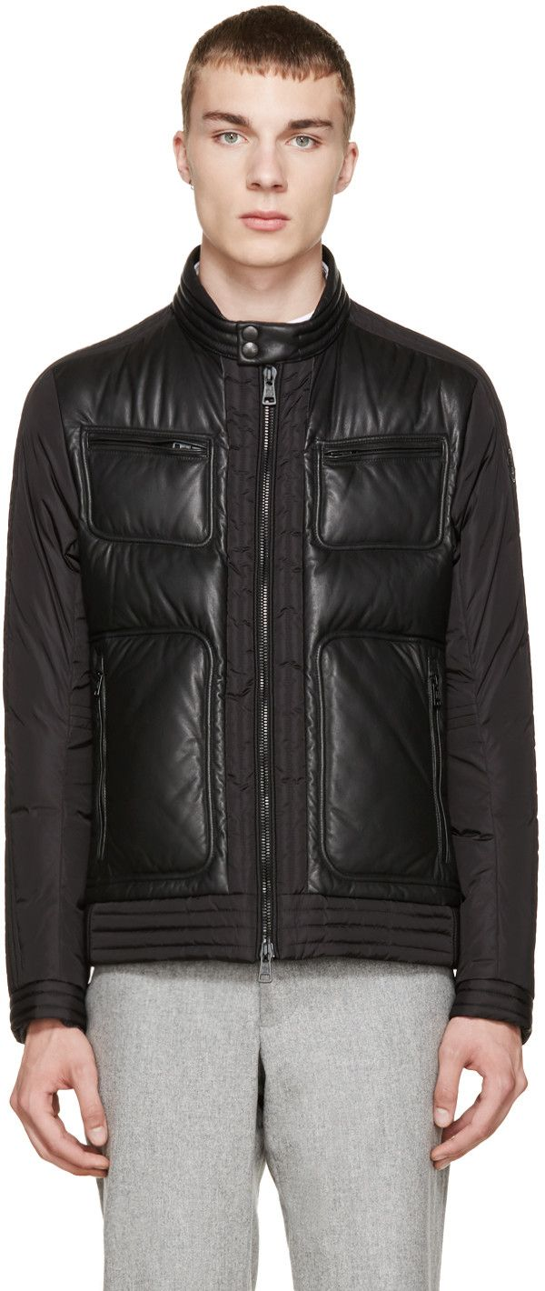 Moncler Black Down Allemand Jacket