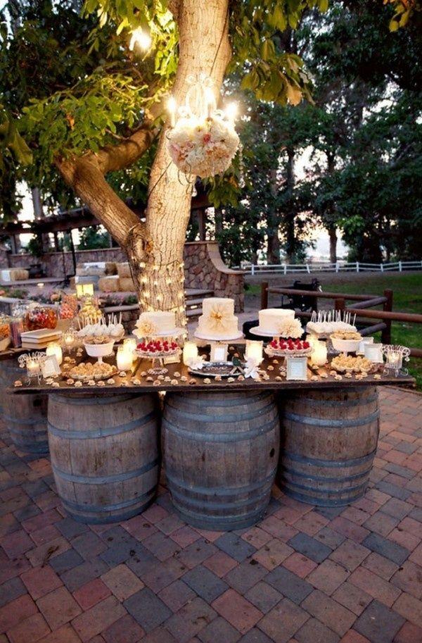 Casamento no campo: rústico e lindo!!! Decoração para uma festa pequena, mas com muito charme.