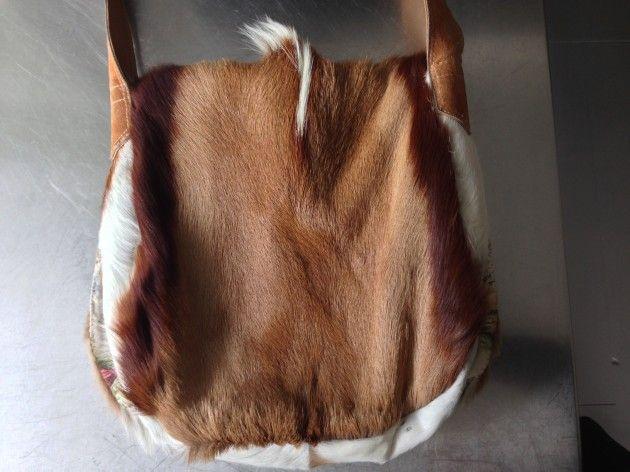 Håndarbeiden » Sy deg en veske av kuskinn, skinn, veske, DIY, craft,