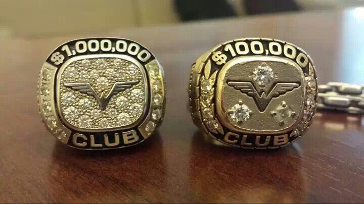Million dollar club ring i will get it photo courtesy