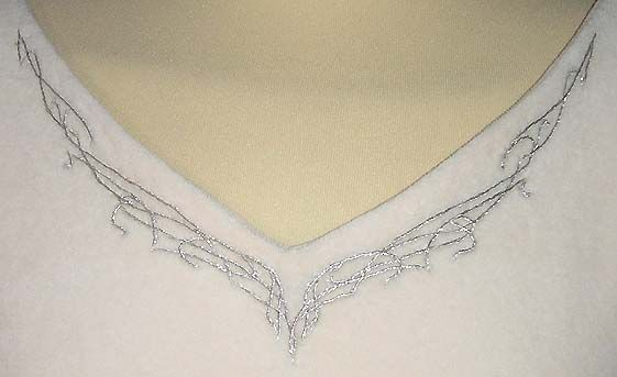 Elvish Silver Embroidery