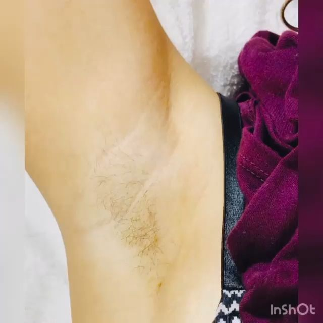 Underarm Waxing Demo Done By A PRO. In This Video She Used