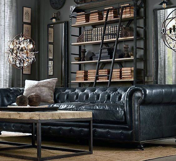 Best 100 Bachelor Pad Living Room Ideas For Men Masculine 640 x 480