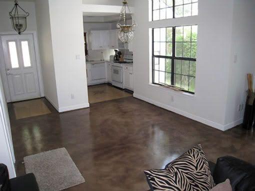 10 idee n over pisos de cemento pulido op pinterest - Hormigon pulido para interiores ...