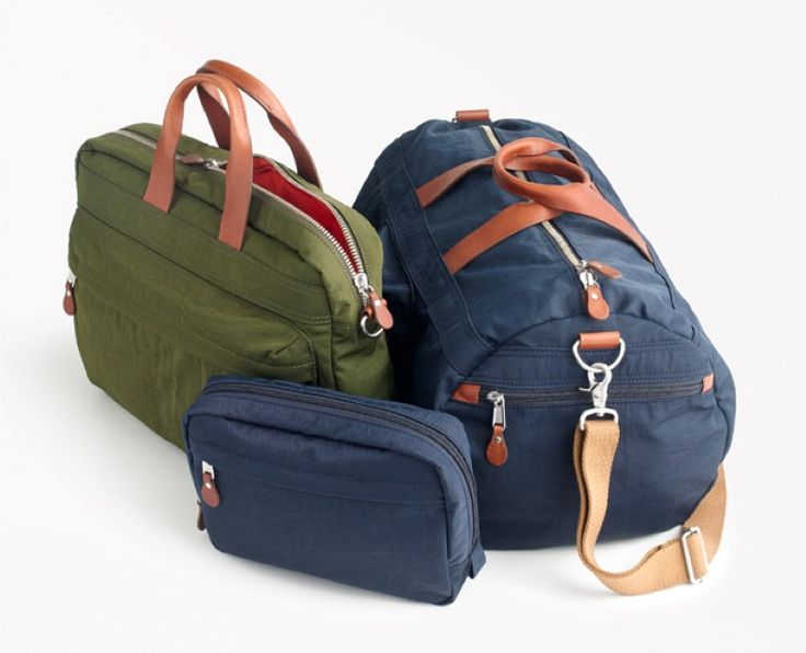"""La marque américaine J.Crew lance la """"Harwick Bag Collection"""", une nouvelle collection de sacs en nylon destinée à l'homme. La collection comprend cinq..."""