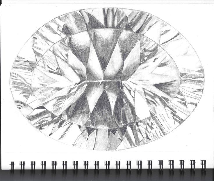 My First Graphite Sketchbook Gem by Lisa H.