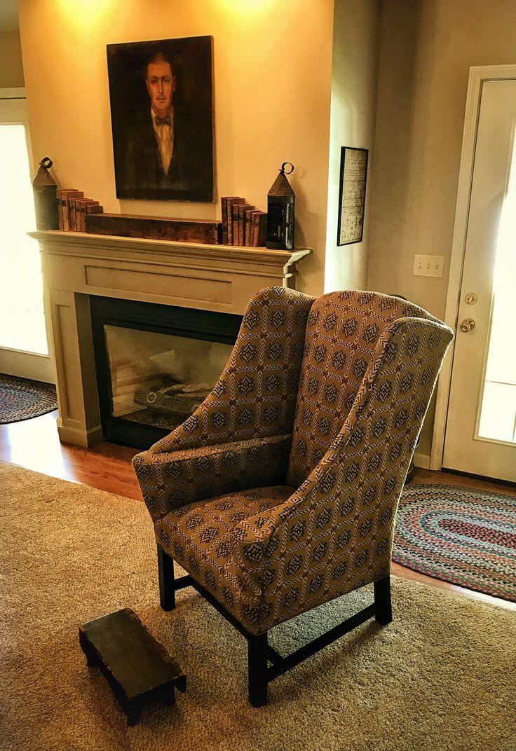 Primitive country decor living room - Primitive Mantel