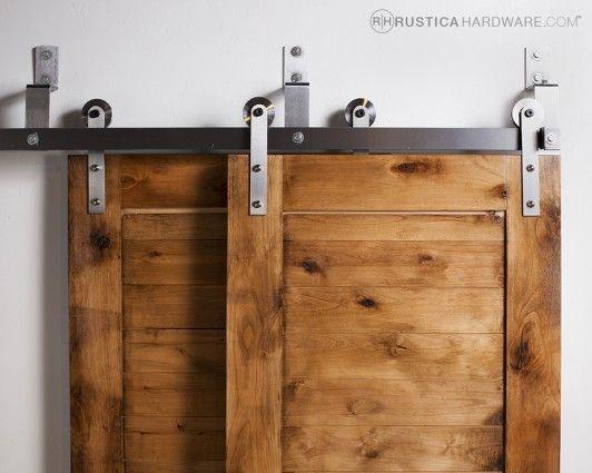 standard bypass barn door hardware system rolling sliding doors