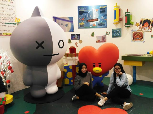 One Day At Play Line Friends Pop Up And Experience Jakarta Fans Pop Up Singapura