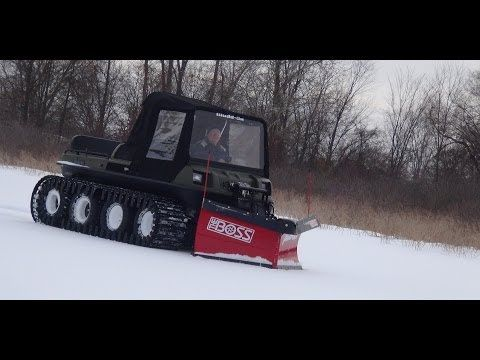 Mudd-Ox: The Boss Snowplow - Revolutionizing UTV's - YouTube
