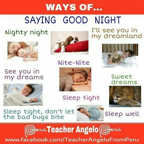 11 best greetings images on pinterest english language learn saying good night m4hsunfo
