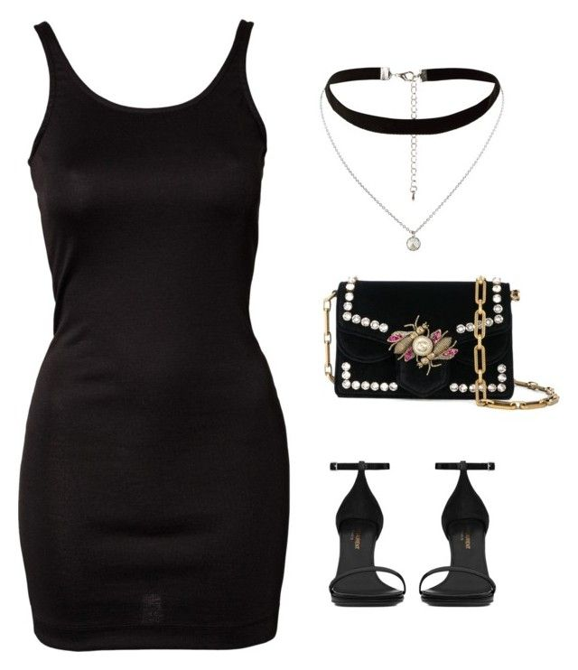 """Untitled #426"" by mchlap on Polyvore featuring ONLY, New Look, Yves Saint Laurent and Proenza Schouler"