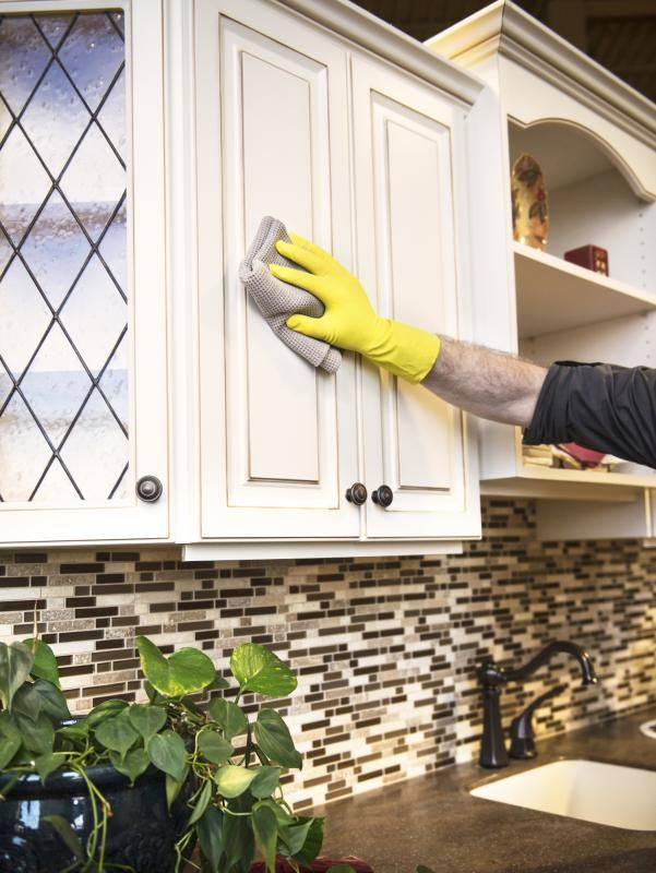 Just because your kitchen cabinets are old doesn't mean they have to smell that way. Freshen up those funky cabinets by cleaning them thoroughly inside and out and adding a few natural ...