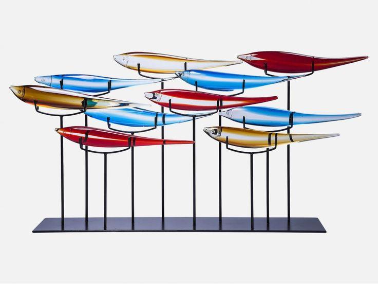 Dekoracja Pesce Colore — Dekoracje ścienne — KARE® Design