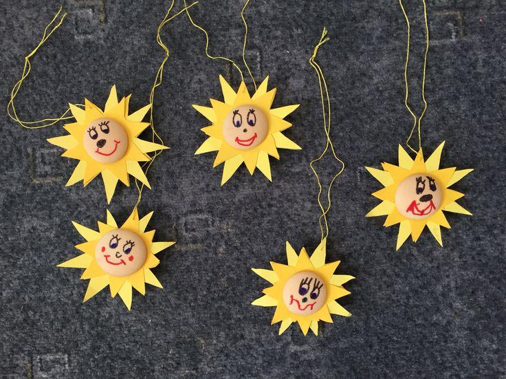 Sluníčka z piškotů