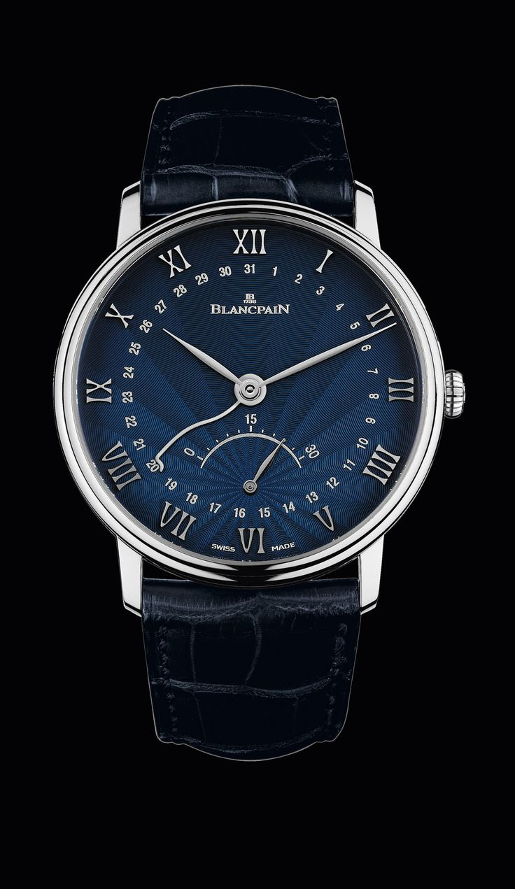 Blancpain retrograde small seconds watch by Blancpain on Presentwatch.com
