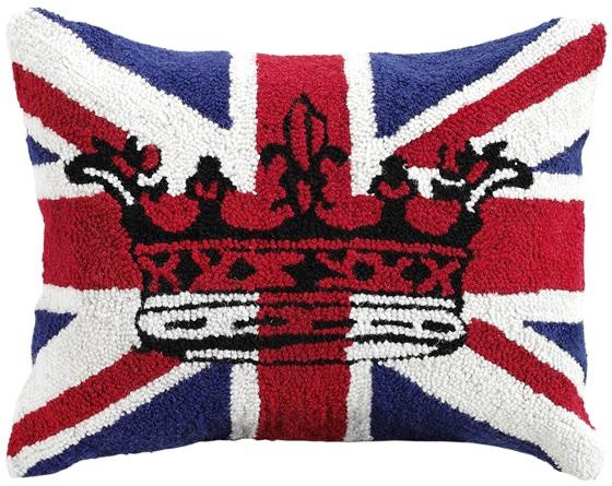 Union Jack Pillow Decorative Pillows Home Accents Home Decor Homedecorators Com