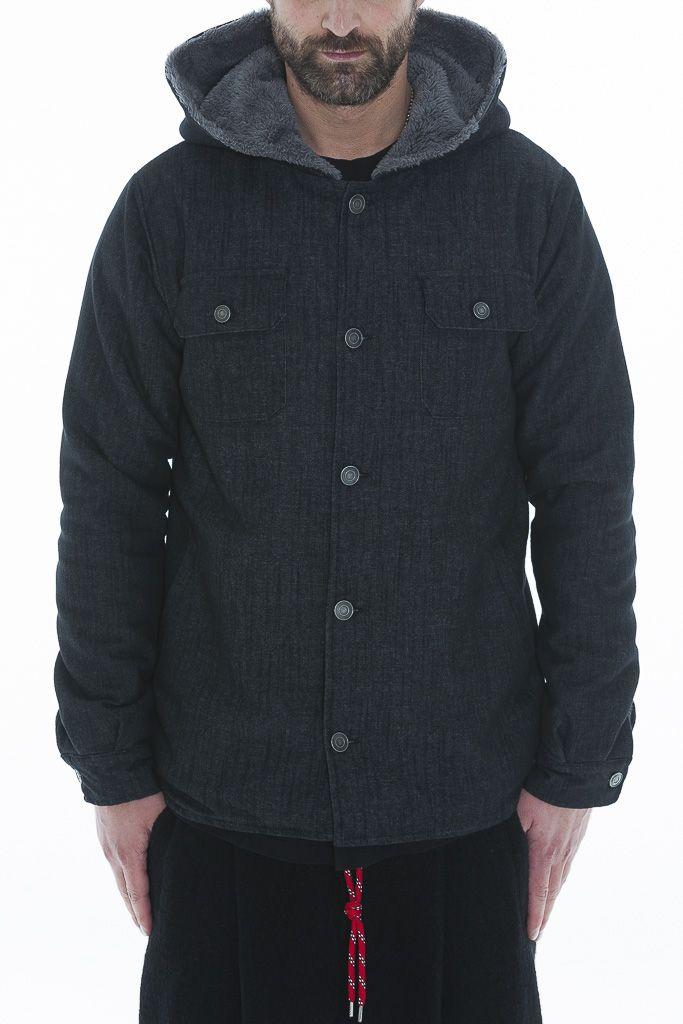 Jeans Jacket insert Teddy Bear