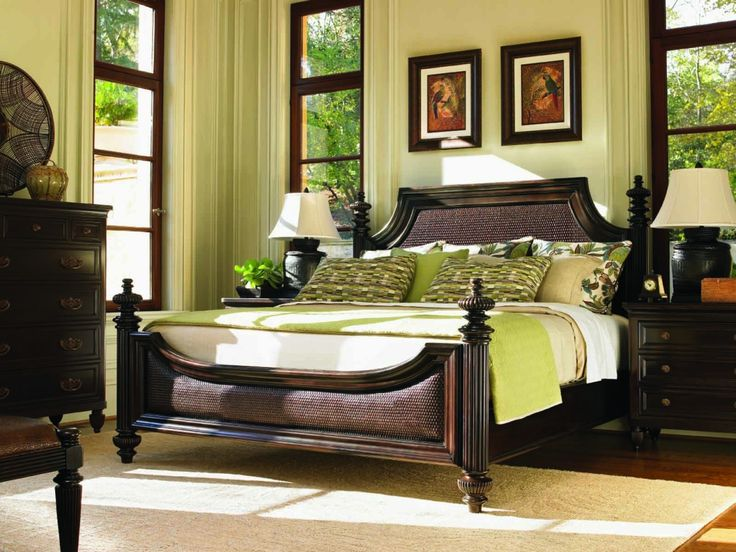 Lexington Tommy Bahama Royal Kahala Harbor Point Bedroom Set