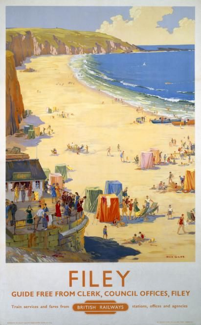 filey railway posters - Google Search