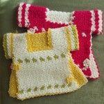 Elbise Lifler #washcloth #örgü #lif #knit #knitting #crochet
