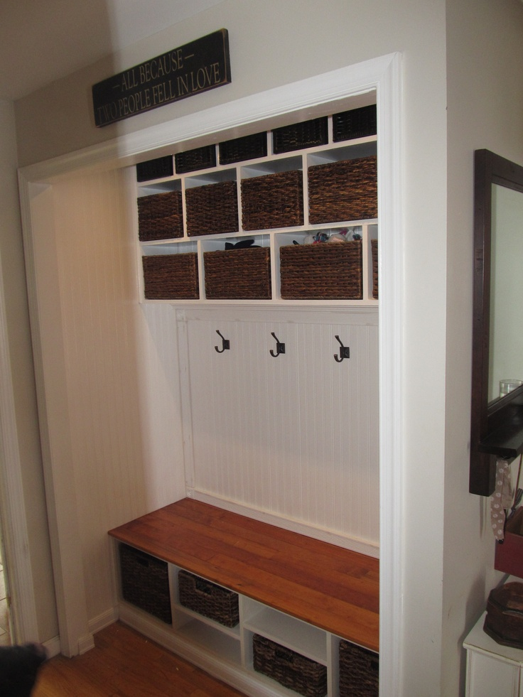 23 Best Coat Closet To Lockers Images On Pinterest Entry