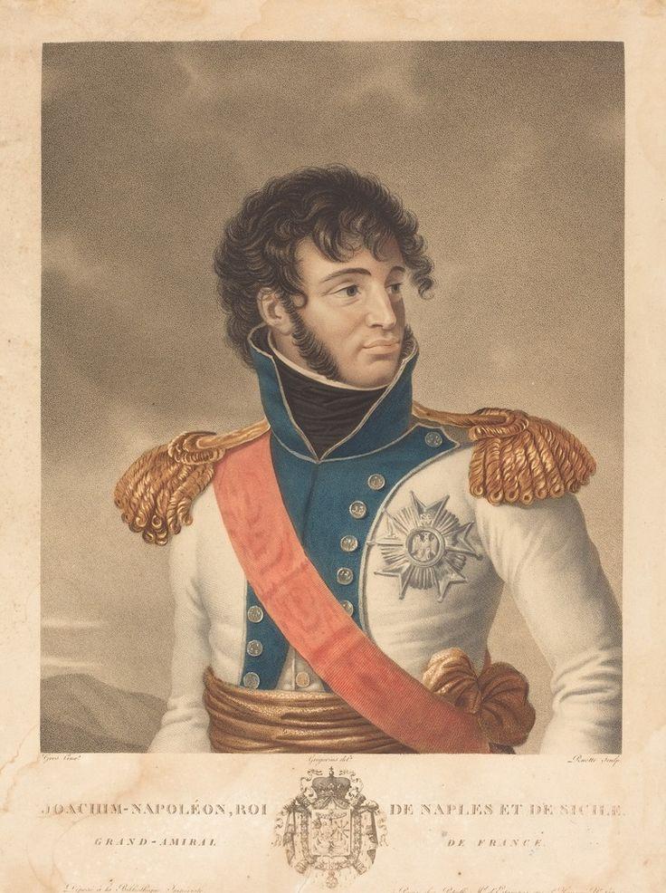Joachim Murat (Joachim-Napoleon, Roi de Naples et de Sicile, Grand-Admiral de France) Color aquatint with hand coloring Courtesy National Gallery of Art, Washington National Gallery of Art, Washington D.C.