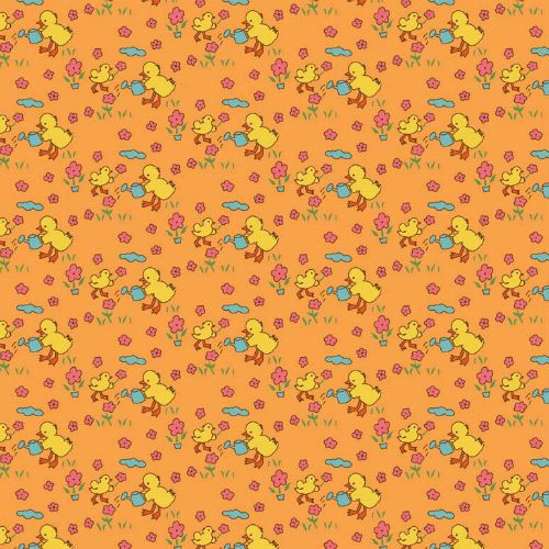 Toy Chest - Baby Chicks Orange