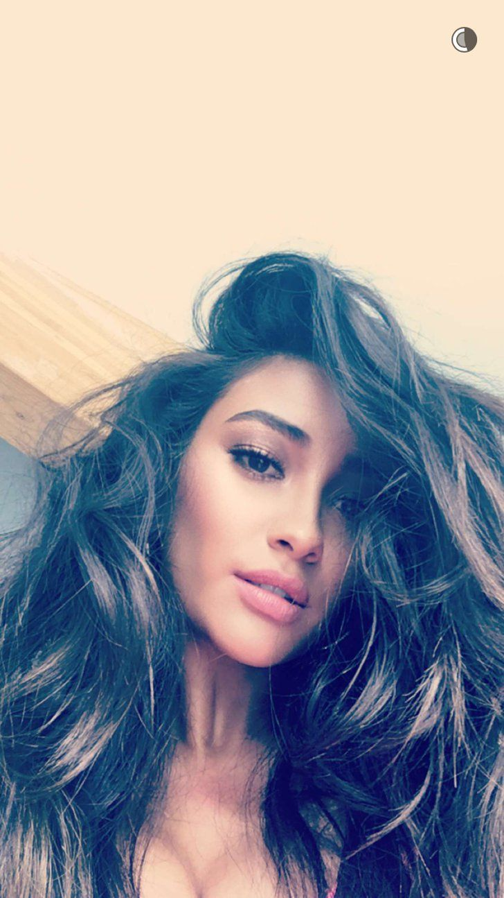 Pin for Later: These Celebrity Snapchat Accounts Are So Hot They May Actually Steam Up Your Phone Screen Shay Mitchell: officialshaym