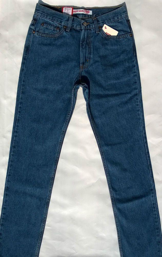 Jeans Carrera Uomo Art.700/1021 Zip Front Invernale 5Tasche Regular Fit Tg46/62