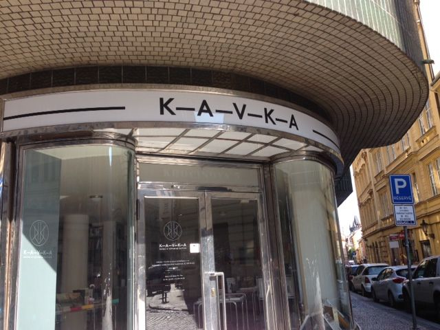 There is a great new art books store in Prague called KAVKA. If you love art books, this is a place to visit.
