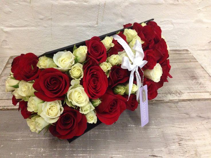 Caja con rosas , Flower Box