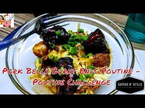 Pork Belly Burnt Ends Poutine