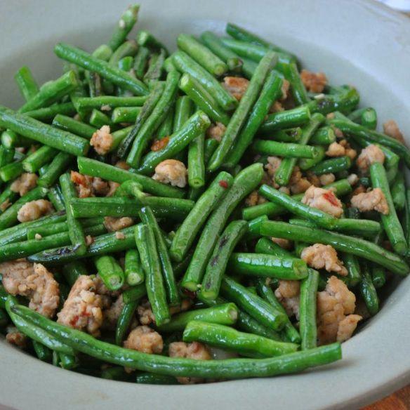 (Yardlong bean-2) Yard-long bean recipes