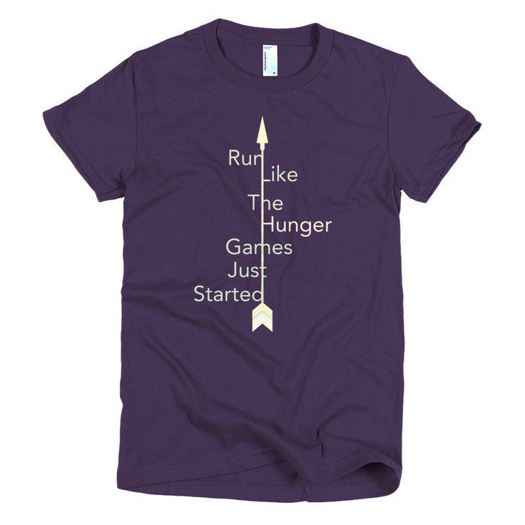Run Like Hunger Games - Women's Short Sleeve T-shirt