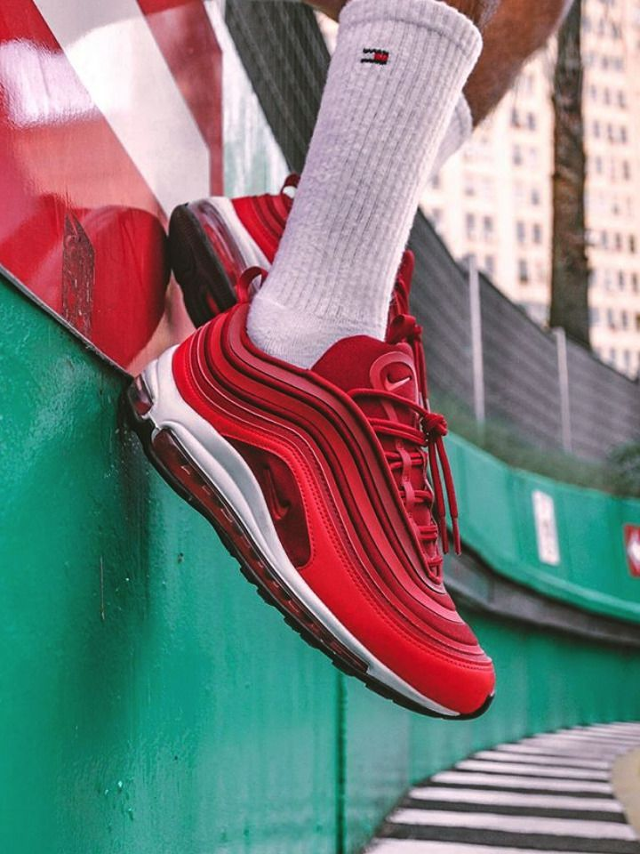 Sneakers Nike : Nike wmns Air Max 97 Ultra – Gym Red – 2018