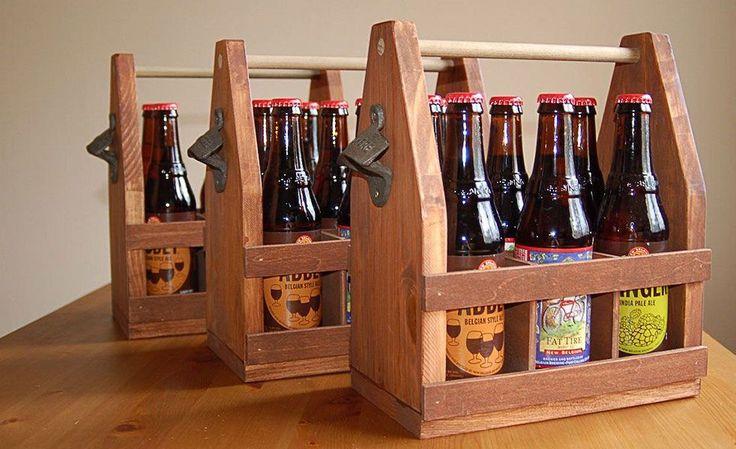 DIY: Wooden Beer Tote