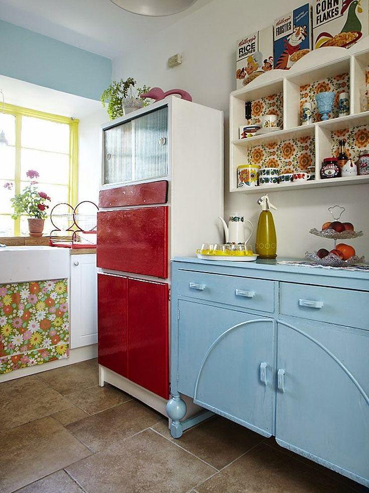 Retro Kitchen Decorating Photos