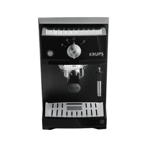 Die Krups XP 5210 im ausführlichen Espressomaschinentest - Siebträgermaschine mit Thermoblock für Einsteiger Ist der günstige Preis einen Kauf wert?