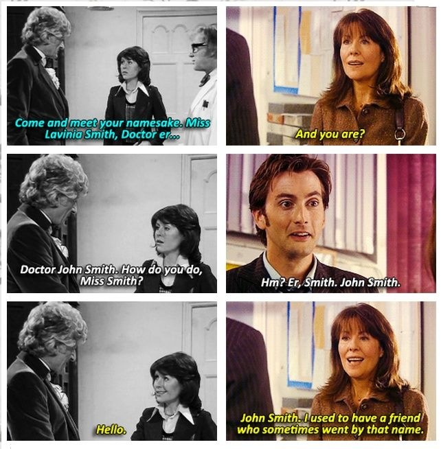 """The first and last time Sarah Jane Smith met the Doctor. Right in the feels"" <---Not True. She met Eleven."