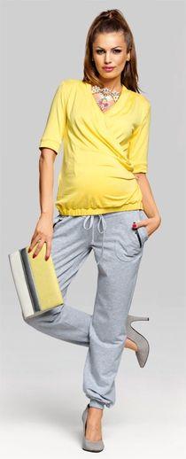 Siesta вискозный топ для беременных