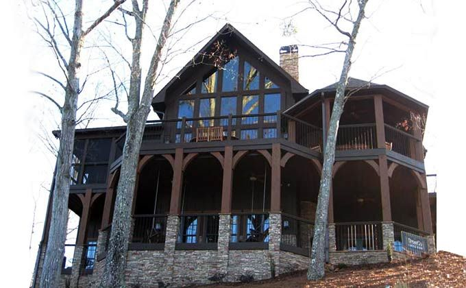 8 best images about lake home design appalachia mountain for A frame mountain house plans