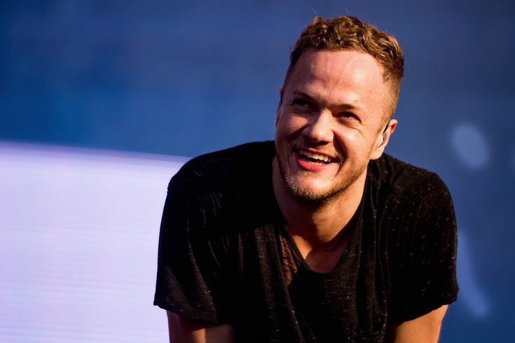 Dan Reynolds of Image Dragons performs on stage during the 2014 Lollapalooza Brazil at Autodromo de Interlagos on April 5, 2014 in Sao Paulo, Brazil.